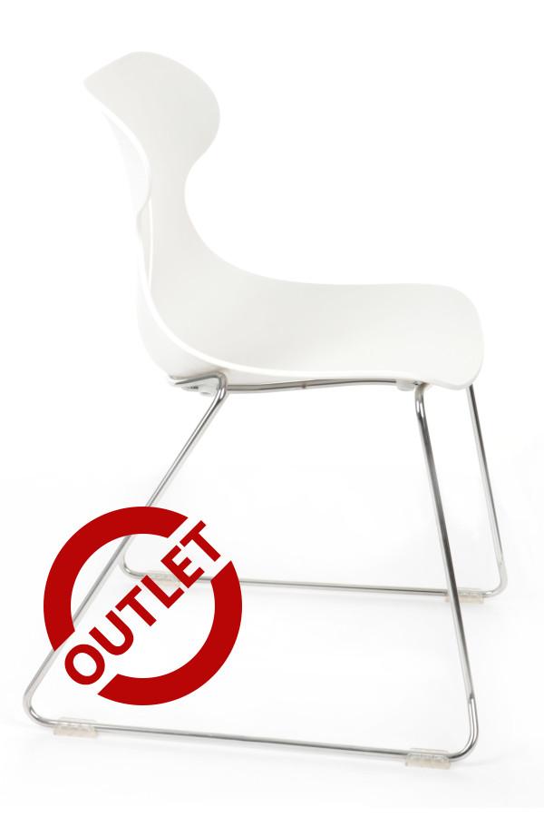 Krzesło Mariquita P BIAŁA - outlet