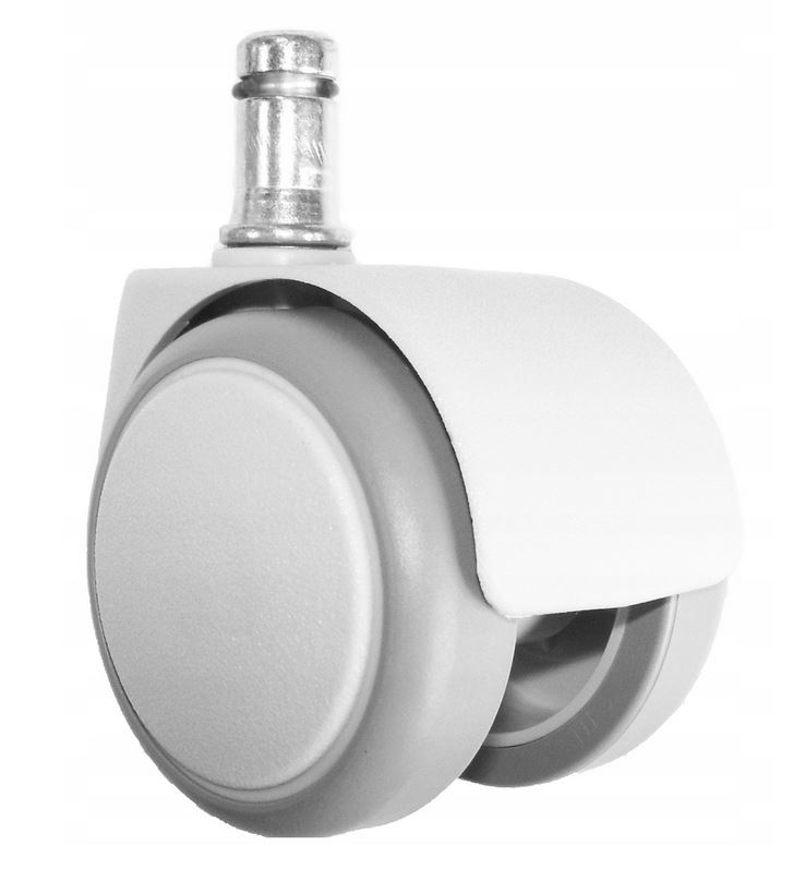 Kółka Miękkie Białe 50 mm (5 szt)