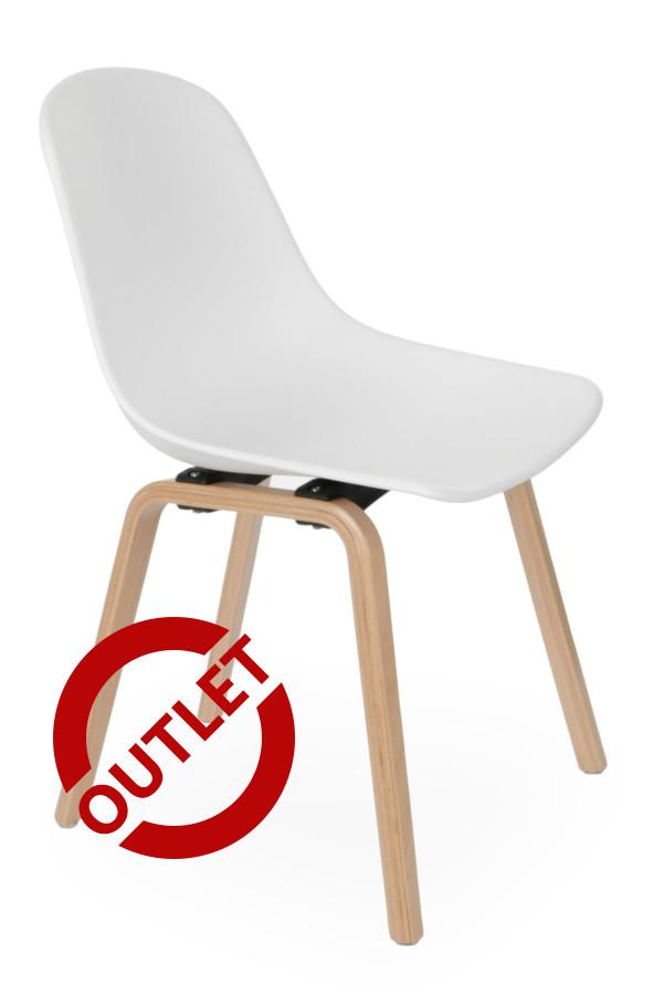 Krzesło Piano wood Biały