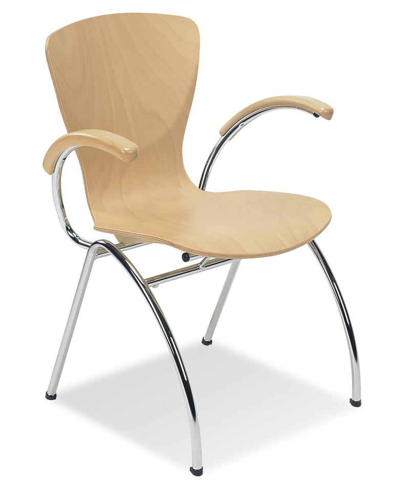 Krzesło Bingo Arm wood