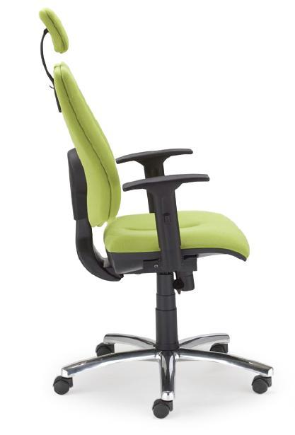 Krzesło Gem HRU R steel