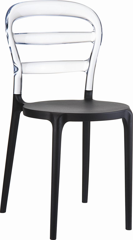 Krzesło Miss Bibi Black - 24h