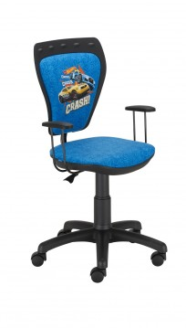 Krzesło Ministyle Black Hot Wheels 1 - 24h