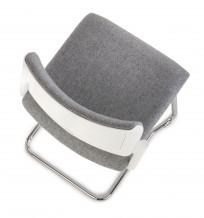 Krzesło Set V Arm White - zdjęcie 5