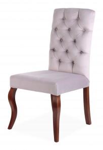 Krzesło Astoria pikowanie Chesterfield, nogi Ludwik - zdjęcie 6