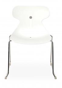 Krzesło Mariquita P BIAŁA - outlet - zdjęcie 3