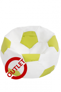 Pufa Football XXL Limonkowa - OUTLET