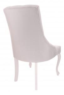 Krzesło Cristal z kryształkami, nogi Ludwik - zdjęcie 5