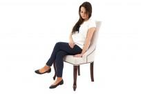 Krzeslo Alexis 2 z pinezkami, nogi Ludwik - zdjęcie 8