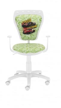 Krzesło Ministyle White Hot Wheels 2 - 24h - zdjęcie 3