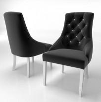 Krzesło Cristal z kryształkami - zdjęcie 6