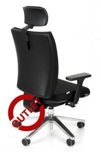 Fotel Kim HD chrome K01 - OUTLET