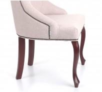 Krzesło Alexis 2 z pinezkami, nogi  Ludwik - OUTLET - zdjęcie 5