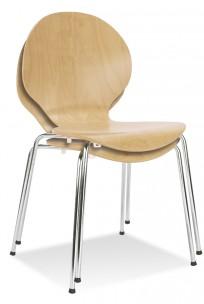 Krzesło Espresso (Cafe VI) Buk Naturalny