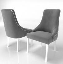 Krzesło Alexis 2 z pinezkami - zdjęcie 6