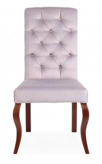 Krzesło Astoria pikowanie Chesterfield, nogi Ludwik - zdjęcie 7