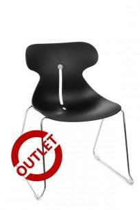 Krzesło Mariquita P CZARNY - outlet - zdjęcie 2