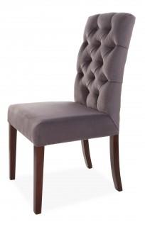 Krzesło Astoria Chesterfield 3 z pinezkami i kołatką - zdjęcie 6