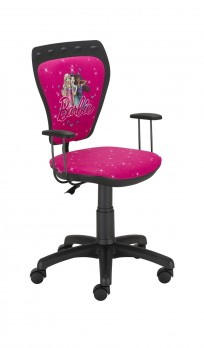 Krzesło Ministyle Black Barbie 1 - 24h