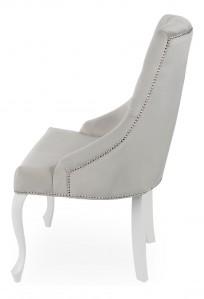 Krzesło Sisi 2 z pinezką, nogi Ludwik - zdjęcie 12