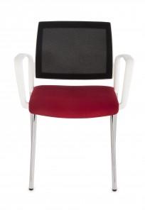 Krzesło Set Net Arm White - zdjęcie 3