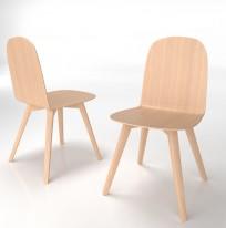 Krzesło Malmo wood - zdjęcie 8