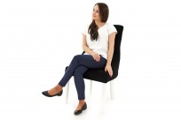 Krzesło Cristal z kryształkami - zdjęcie 13
