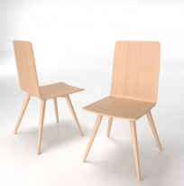 Krzesło Skin Wood - zdjęcie 4