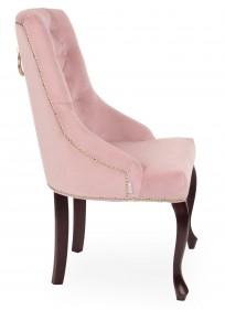 Krzesło Sisi 3 z pinezkami i kołatką, nogi Ludwik - zdjęcie 3