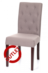 Krzesło Simple 100A guzik OUTLET