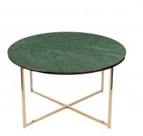 Stolik kawowy Alisma green / golden - zdjęcie 3