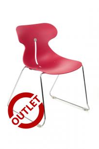 Krzesło Mariquita P CZERWONA - outlet