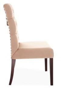 Krzesło Astoria Chesterfield 3 z pinezkami i kołatką - zdjęcie 3