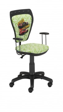 Krzesło Ministyle Black Hot Wheels 2 - 24h - zdjęcie 3