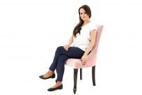 Krzeslo Alexis 2 z pinezkami, nogi Ludwik - zdjęcie 10