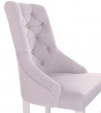 Krzesło Cristal z kryształkami - zdjęcie 7