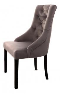 Krzesło Cristal z kryształkami - zdjęcie 9