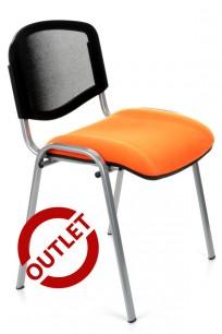 Krzesło Iso Ergo Mesh chrome - OUTET