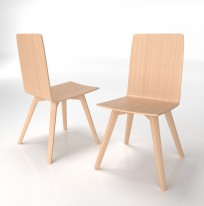 Krzesło Skin Wood - zdjęcie 5