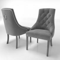 Krzesło Sisi 3 z pinezkami i kołatką - zdjęcie 21