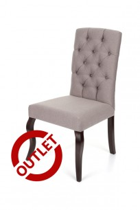 Krzesło Astoria Chesterfield, nogi Ludwik - OUTLET