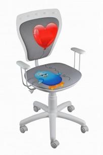 Krzesło Ministyle White Kurczak z Sercem - 24h - zdjęcie 3