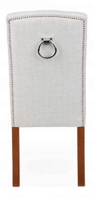 Krzesło Astoria Chesterfield 3 z pinezkami i kołatką - zdjęcie 10