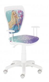 Krzesło Ministyle White Barbie 4 - 24h
