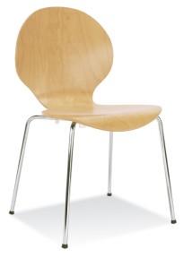 Krzesło Espresso (Cafe VI) Buk Naturalny - zdjęcie 3