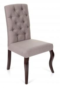 Krzesło Astoria Chesterfield, nogi Ludwik - OUTLET - zdjęcie 5