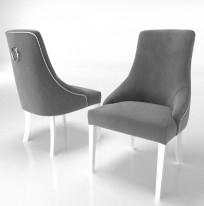 Krzesło Alexis 3, pinezki i kołatka - zdjęcie 13