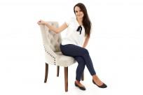 Krzesło Sisi 2 z pinezkami - zdjęcie 16