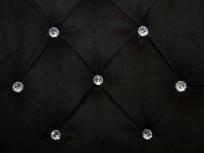Krzesło Cristal z kryształkami, nogi Ludwik - zdjęcie 6