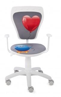 Krzesło Ministyle White Kurczak z Sercem - 24h